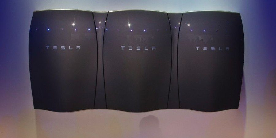 Black Tesla Powerwall