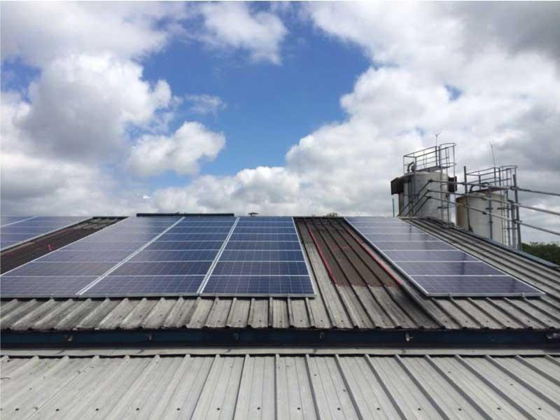 100kw Solar Pv Installation Morris Bakers Chorley
