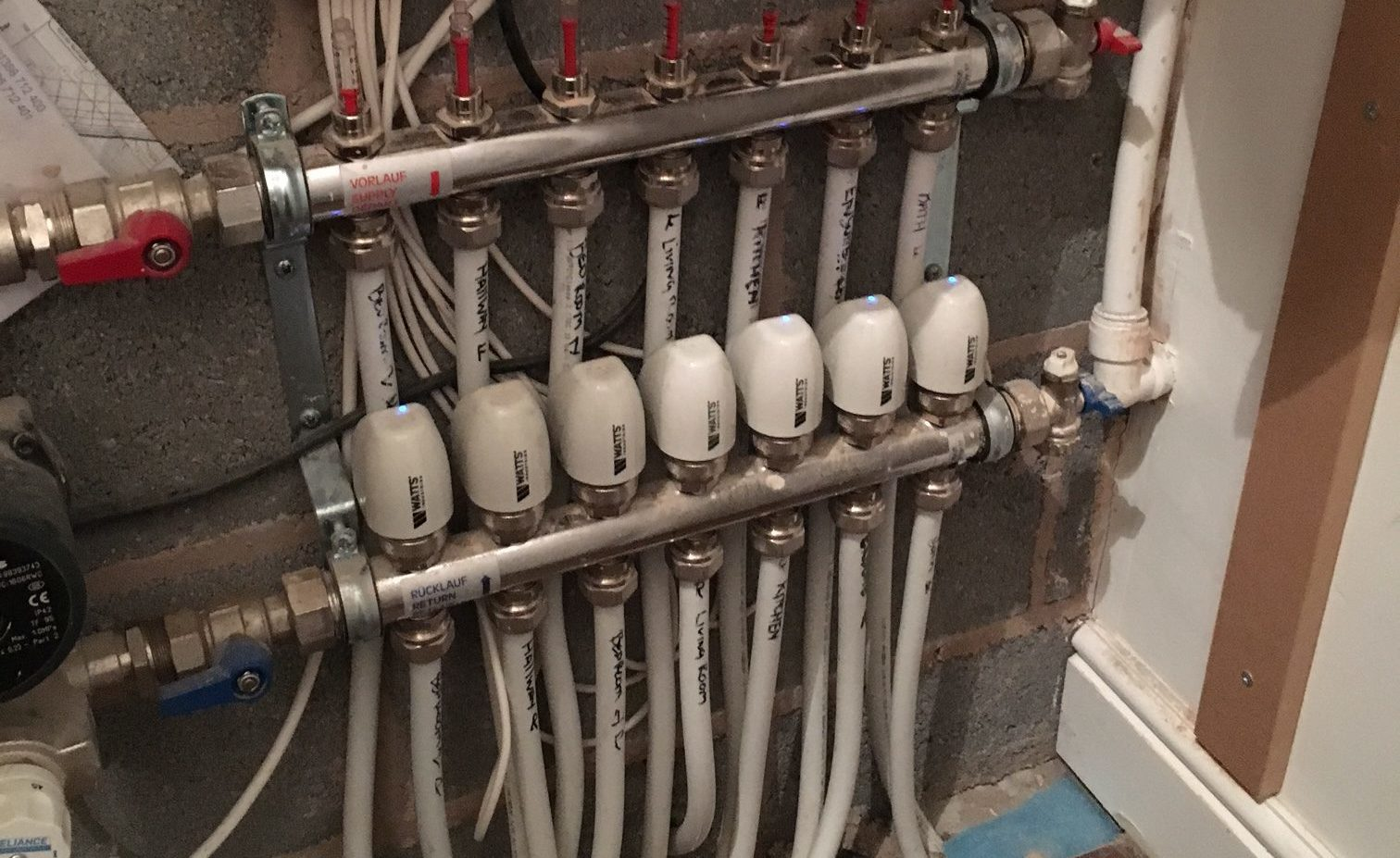 Underfloor Heating Hot Water Electric Tgg